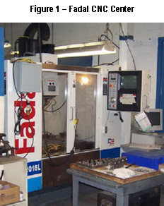 Figure 1 - Fadal CNC Center